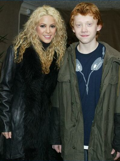 Shakira, Rupert Grint,... Rupert Grint